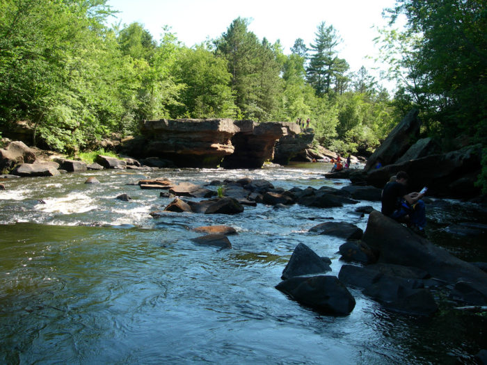 4. The Kettle River rapids.
