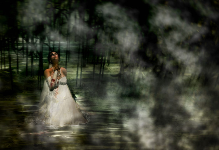 Now, she haunts the streets of West Texas searching for the two loves she left behind. So if you're driving near the river at night and see a woman in a white dress, don't make eye contact or stop under any circumstances...even if she appears to be crying.