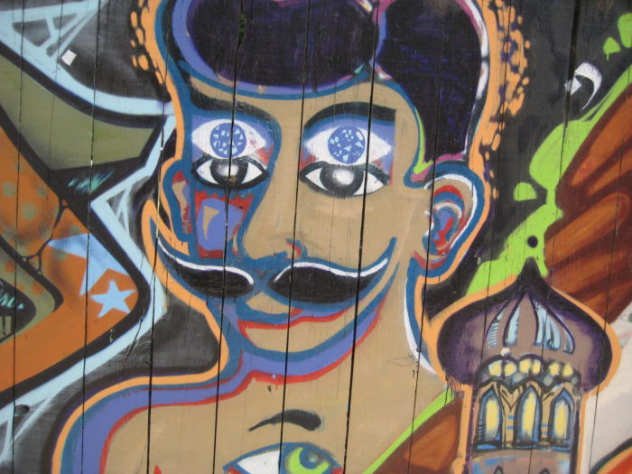 4. Visit Clarion Alley in the Mission.