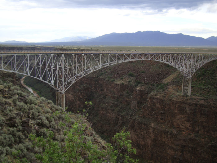 10. Cross the Rio Grande Gorge Bridge.