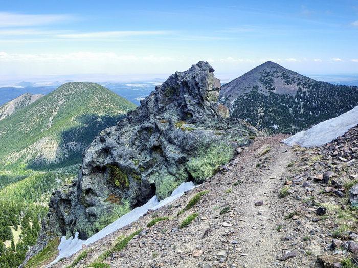 8. Humphreys Summit Trail #151 (Humphreys Peak)