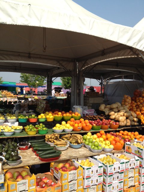 ...and even fresh, year-round farmers markets.