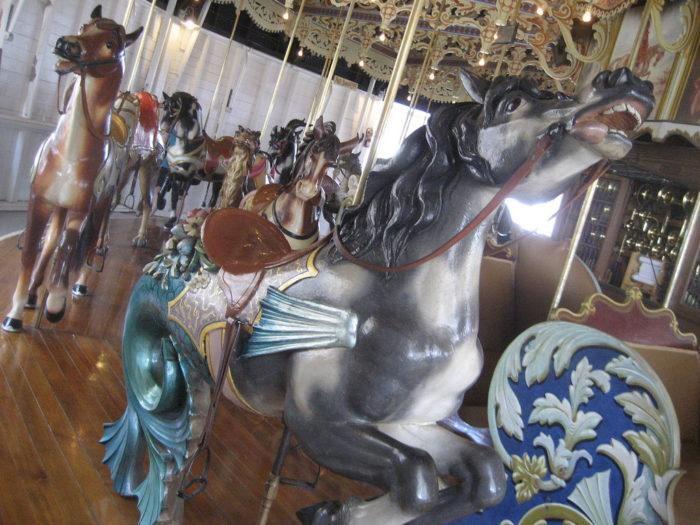 ...historic Kit Carson Carousel...