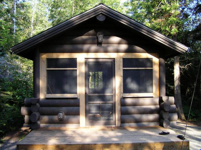 4. State Park Camper Cabins