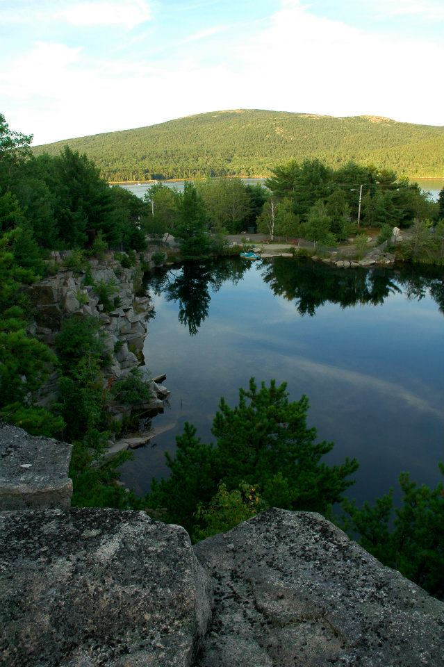7. Somes Sound View Campground, Hall Quarry