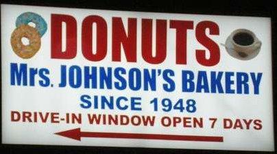 7. Mrs. Johnson's Bakery