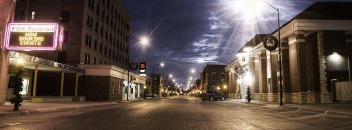 1. Historic Chestnut Street District (Hays)