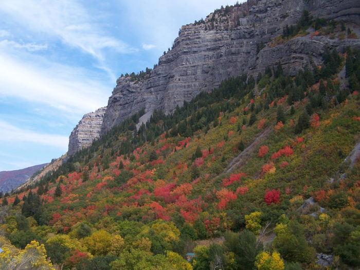 Provo canyon offers some beautiful scenery, too.