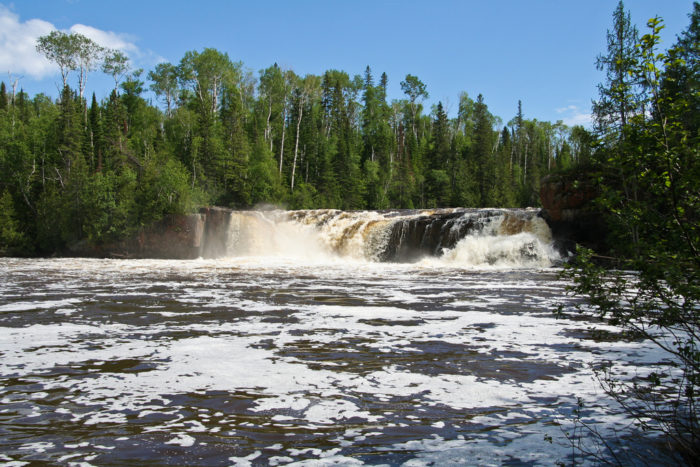 2. Pigeon River Middle Falls