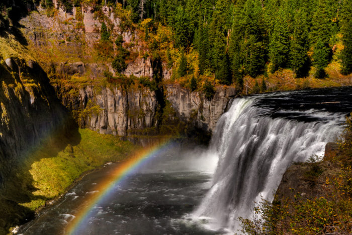 8. Mesa Falls Nature Trail and Scenic Byway