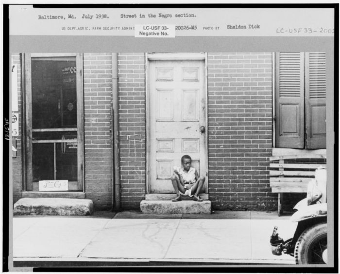 2. A moment in Baltimore captured in 1938.