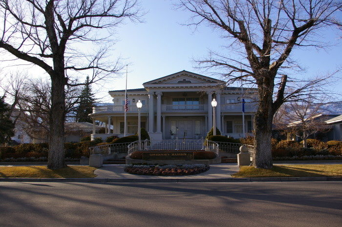 4. The Nevada Governor's Mansion – Carson City