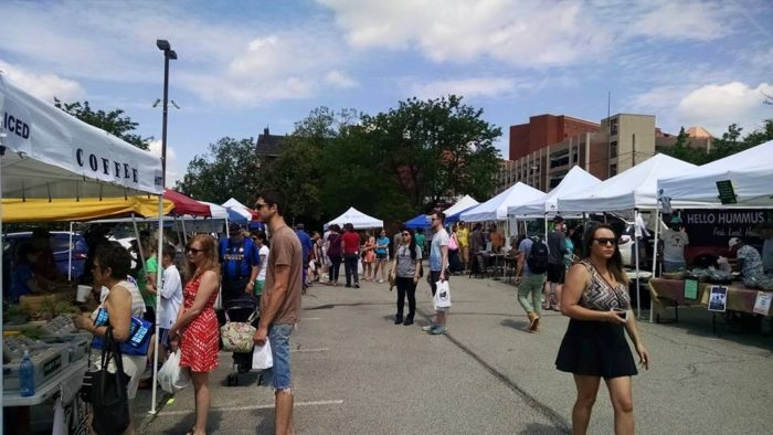 The bustling Bloomfield Saturday Market's 2016 season features 27 full season vendors and additional occasional vendors.