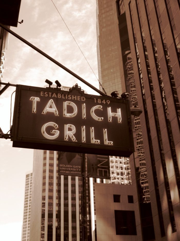 3. Tadich Grill: Financial District.