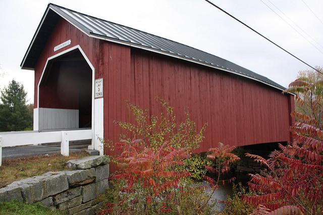 4. Carlton Covered Bridge, Swanzey