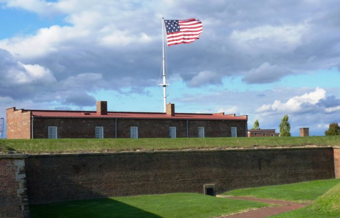 Most people know Fort Mchenry as the birthplace of the National Anthem.