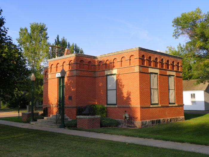 A tiny little museum for Douglas County is right next to the courthouse.