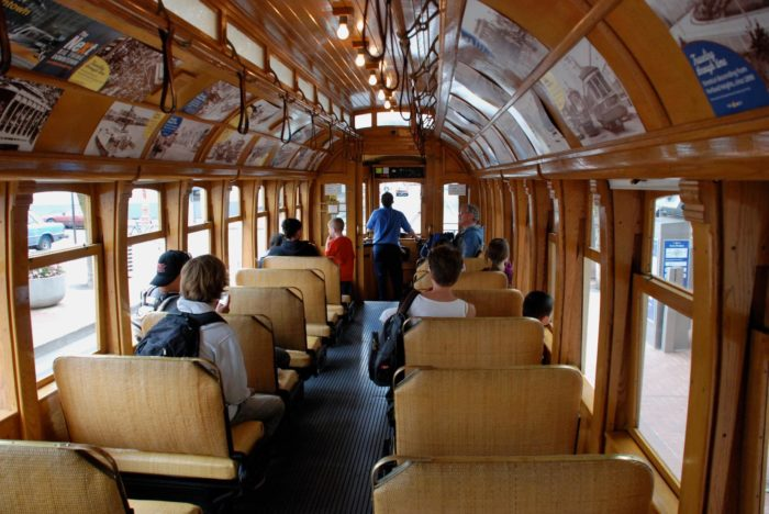 Hop onboard. You'll feel as though you've been transported back in time.