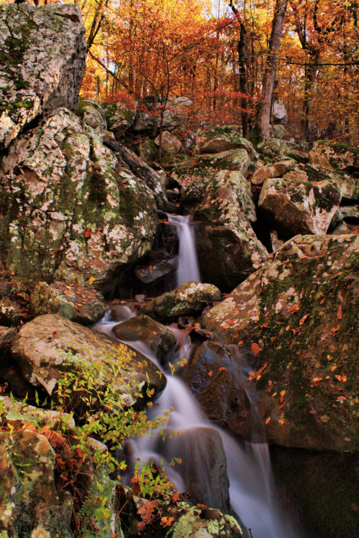There's no better time to hike Arkansas's most beautiful trail than when the leaves have begun to turn.