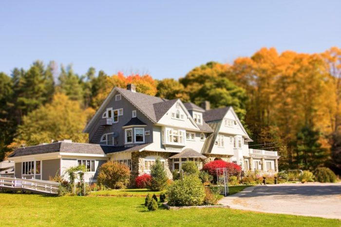 The Hartness House is now a picturesque inn in Southern Vermont.