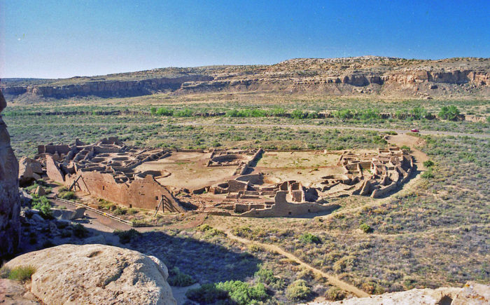 17. Travel back in time at Chaco Canyon.