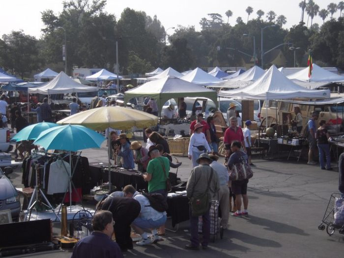 Since 1977, Pasadena City College Flea Market has been THE destination for antiques, vintage goods and collectibles. As recently as 2015 it was included on the Best of Pasadena list. Even though it's been around a long while, it just gets better and better every year.