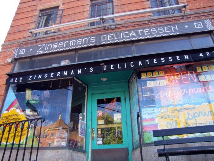 3) Zingerman's Deli (422 Detroit St, Ann Arbor)