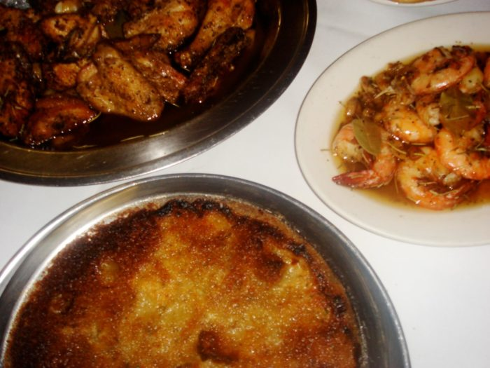 There are some special stuffing dishes that are delicious as well too.