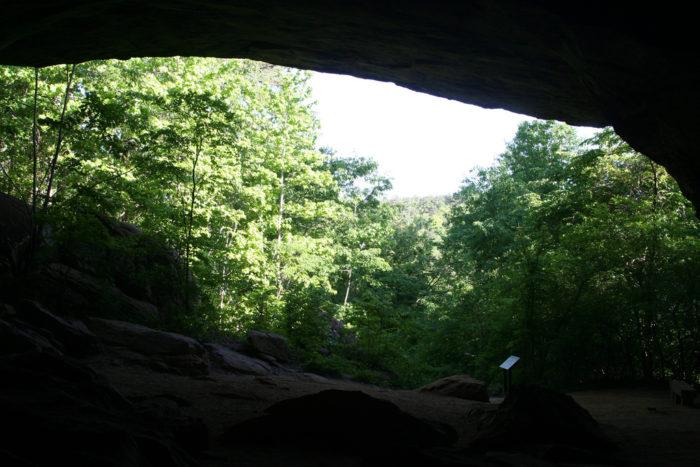 7. Rock House Cave Trail (Petit Jean State Park)