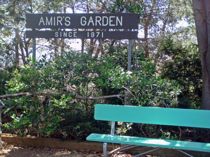 1. Amir's Garden -- Los Angeles