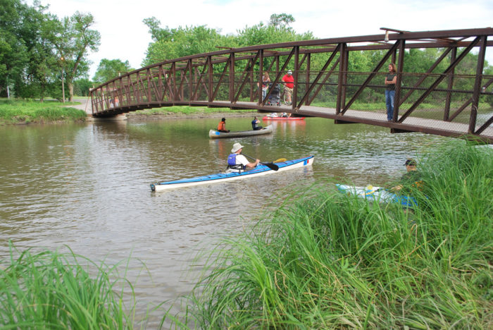 7. Kayak or canoe on the Red River