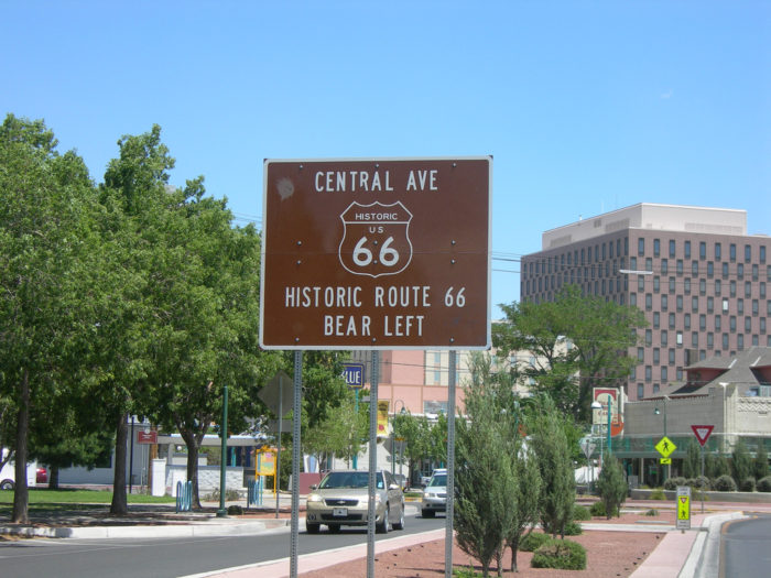 16. Drive along an original stretch of Route 66.