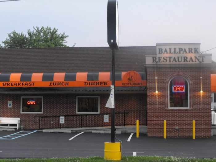 1. Ballpark Restaurant, Street
