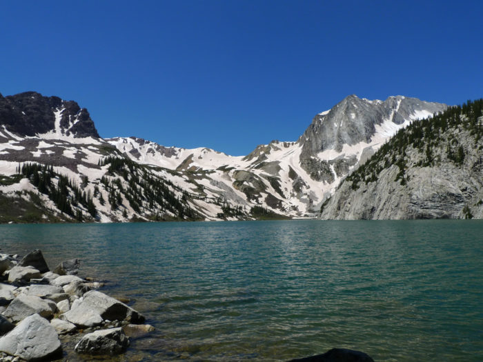 (Bummed that you can't experience the lake for another few months? Me too... but look at it this way: we now have more time to practice and prepare for the challenging hike!)