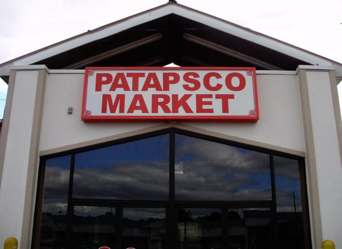 Patapsco Flea Market is located in Baltimore and is a hot spot on the weekends.
