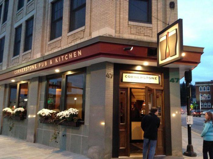 5.  Cornerstone Pub & Kitchen - 47 N Main Street, Barre