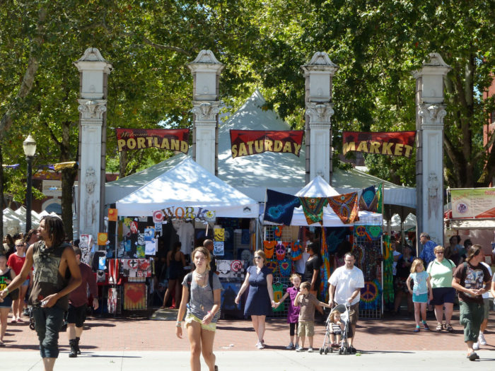 The market is open every Saturday and Sunday, March through December.