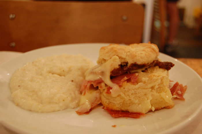 15. Questioning the greatness of ham biscuits