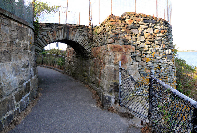 5. Greater attention was given to the cliffwalk in the late 1800s and it became much more developed.