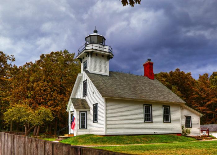 2. Lighthouse Park (20500 Center Road, Old Mission)