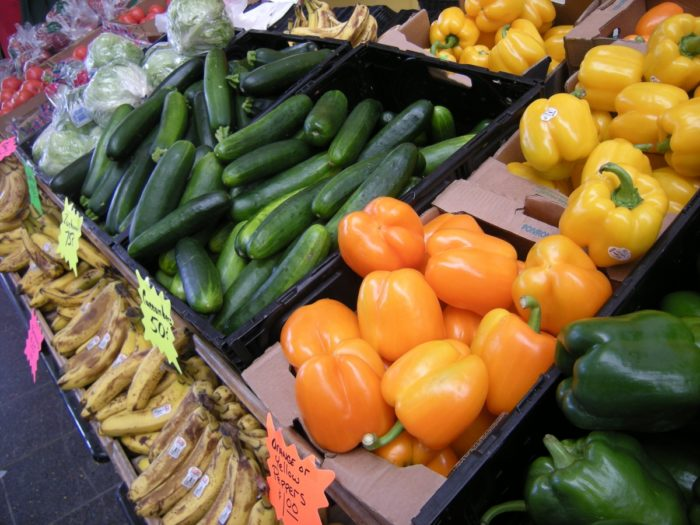 Stock up on all the fresh vegetables and fruits you need at the various produce stands at Rossi's, known as the state's largest pop-up marketplace and flea market.
