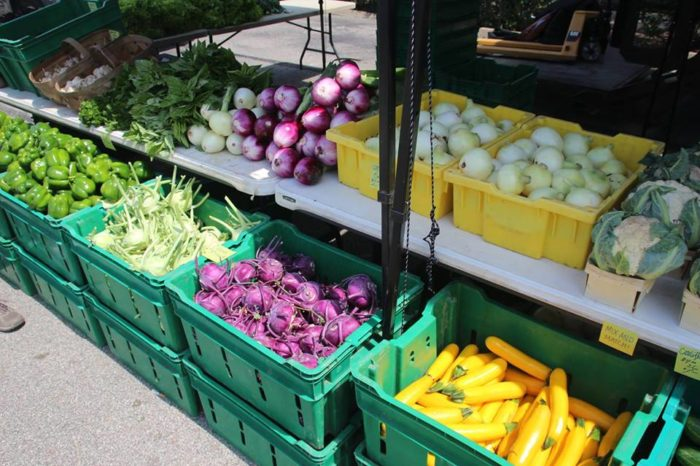 Visit the Bloomfield Market Saturdays from 9 a.m. to 1 p.m.
