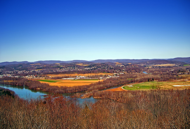 Journey along PA Route 50 from north of Williamsburg to Montoursville (and beyond). The picturesque drive provides plenty of places to stop and admire the view.