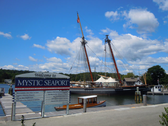 1. Head down to the Mystic Seaport for some American maritime history!