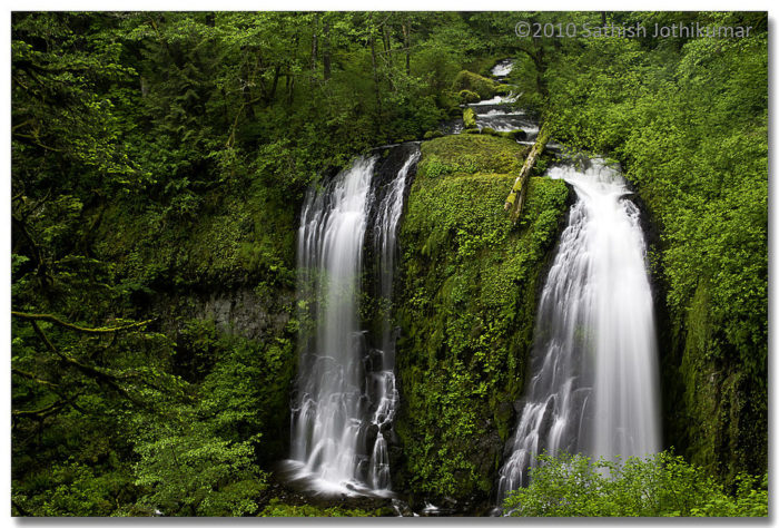 6. Upper McCord Creek Falls Hike, 2 miles