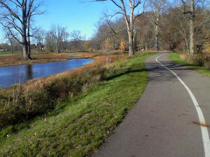 6. Lansing River Trail (various locations, Lansing)