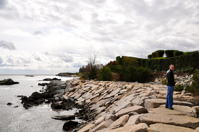 8. For more than a century now estate owners have often argued over shore access.