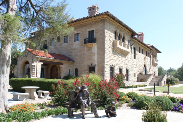 """The final destination along this scenic drive is Ponca City - home to Marland Mansion. Known as the """"Palace on the Prairie,"""" the Marland Mansion is a National Historic Landmark museum and is known as one of America's castles."""