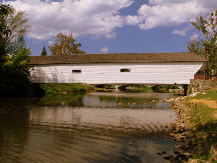 1. Doe River Covered Bridge