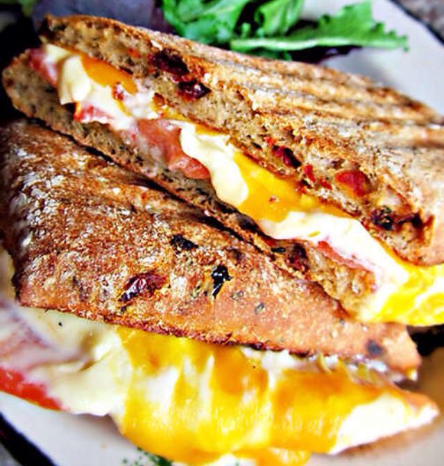 The sandwiches are creative and impressive.